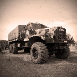 Truck Driving 6x6